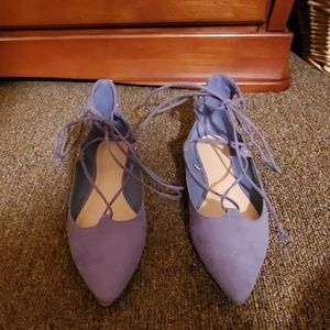 OLD NAVY Light Blue/Periwinkle Flats